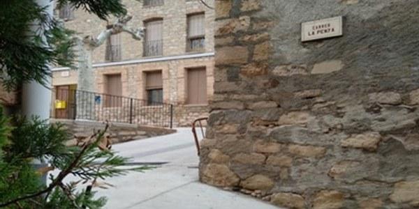 """La Diputació de Lleida va atorgar una subvenció per a la """"Pavimentació i serveis al carrer la Penya"""""""
