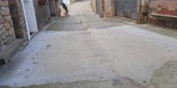 Obres per la Reposició d'un tram de canonada de la xarxa d'aigua al carrer Església