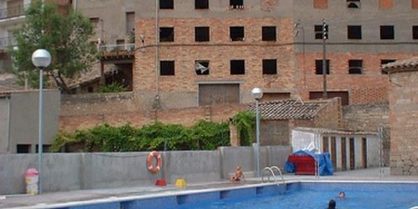 Reparació de la depuradora de la piscina municipal